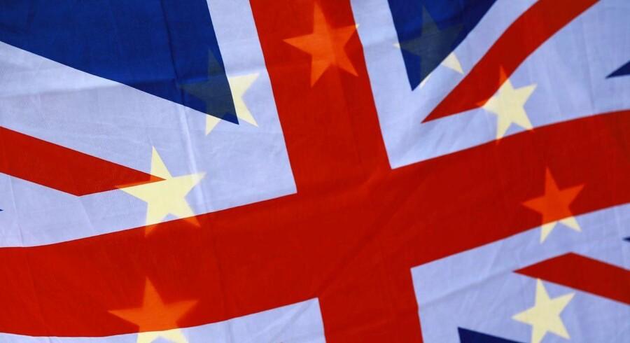 Briterne stemte for Brexit, men afskeden med EU har vist sig mere fyldt med forhindringer, end mange havde forestillet sig. Foto: Neill Hall/EPA