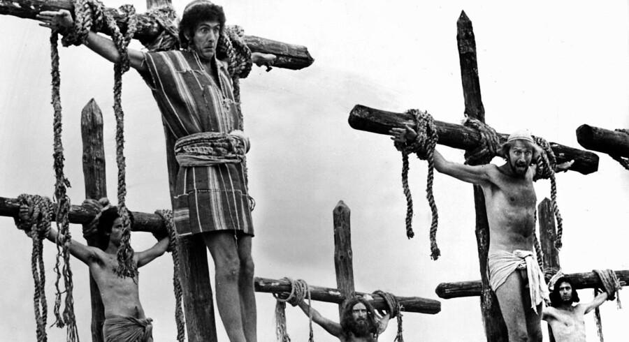 Monty Pythons »Life of Brian« var for stærk kost på en langfredag i Tyskland. PR-foto