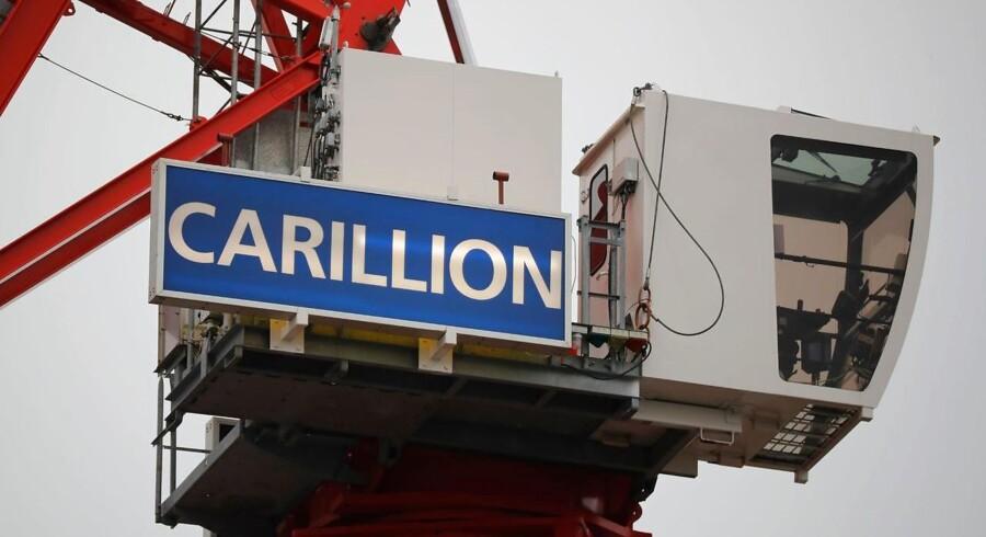 Den britiske virksomhed Carillion har erklæret sin konkurs, efter et forgæves forsøg på at få økonomisk bistand fra den britiske regering. Carillion har 43000 ansatte, og 20000 af dem er ansat i England.