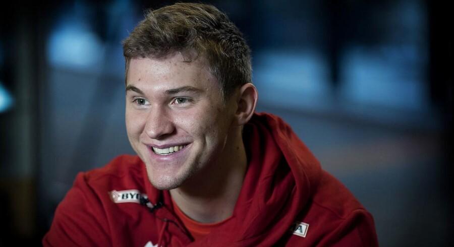 Arkivfoto. Efter sommerferien skifter håndboldlandsholdspilleren Magnus Landin til THW Kiel i den tyske Bundesliga.