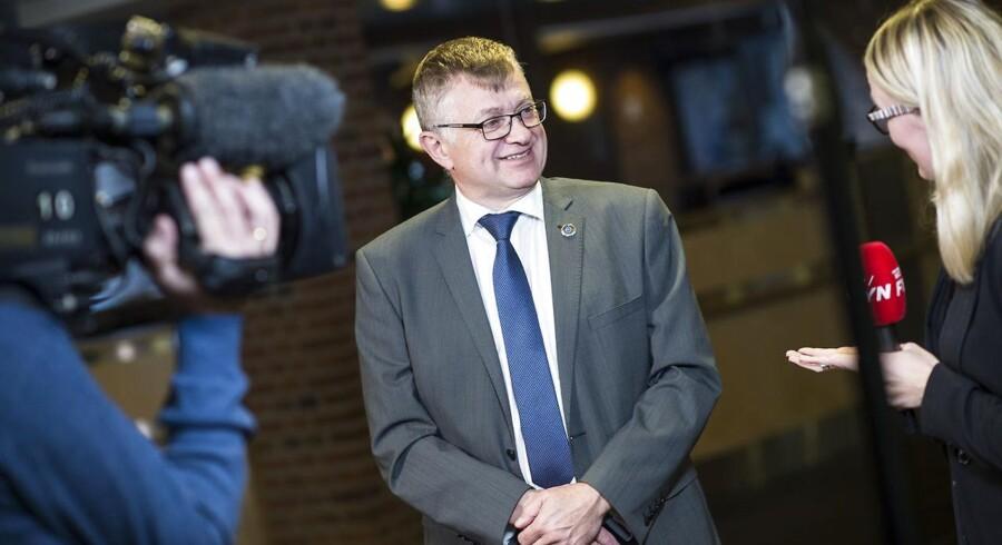 ARKIVFOTO: Dansk Folkepartis spidskandidat i Region Syddanmark, Thies Mathiasen (billedet), siger, at DF med »80-85 procents sandsynlighed« vil støtte Venstres Stephanie Lose. Men når det er sagt, så udelukker Mathiasen ikke noget.