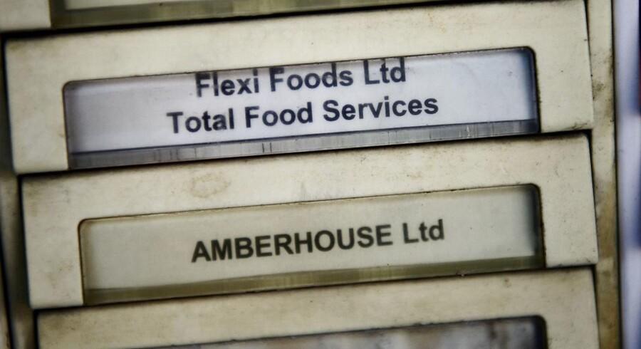 En kunde hævder, at Flexi Foods Ltd. i Hull har importeret hestekød og solgt det videre som oksefars. Foto fra Flexi Food Ltd i Gentofte onsdag den 13. februar 2013.