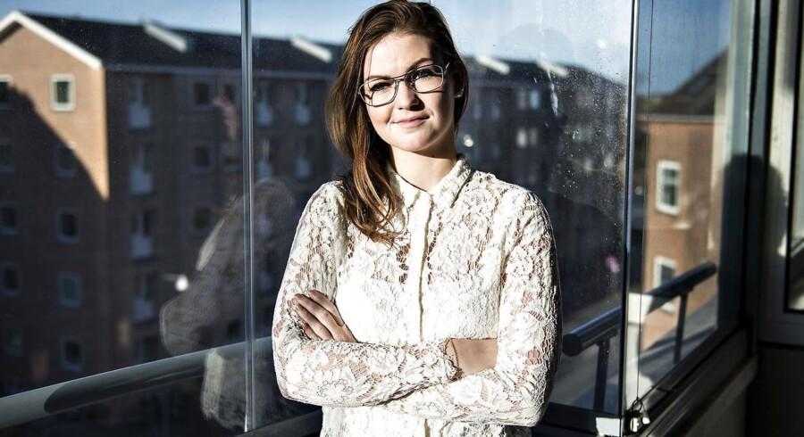 Trine Vibjerg Kristensen læser på Aalborg Universitet. Hun mener, at det store indtag af alkohol på rusture kan være med til at ekskludere studerende, der ikke er så vilde med at drikke.