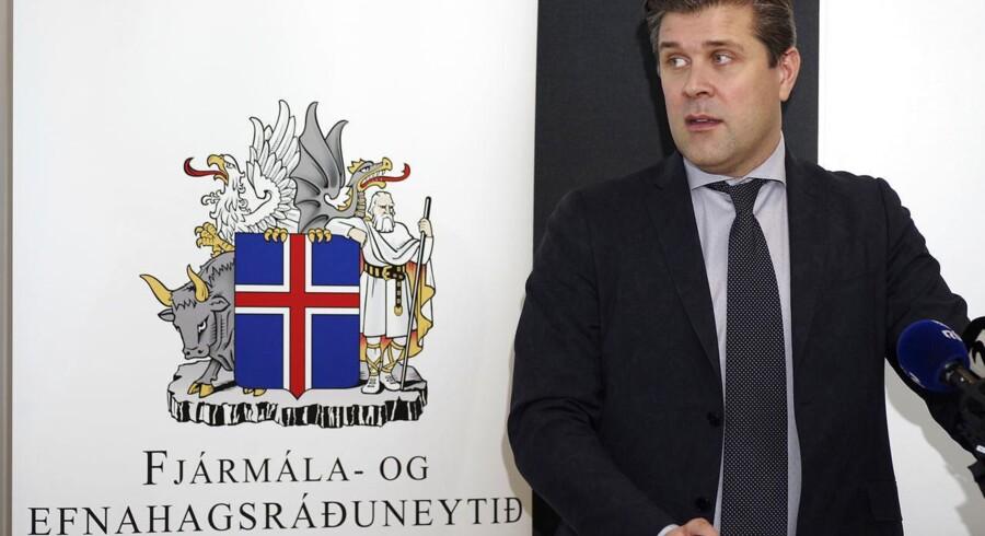 Arkivfoto. Parlamentet i Island skal stemme, om der skal afholdes folkeafstemning om EU-medlemskab.