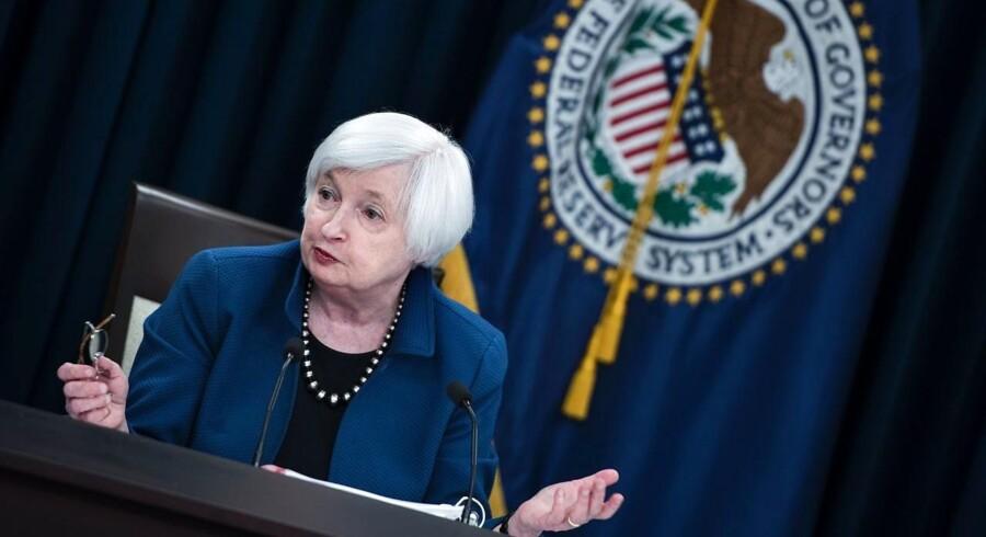 Arkivfoto. Tiden er ved at rinde ud for den magtfulde amerikanske centralbankchef, Janet Yellen.