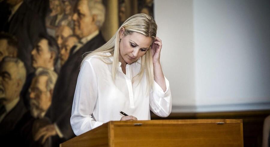 Venstres medieordfører, Britt Bager, mener ikke, Public Service udvalgets rapport ændrer på, at der er brug for et slankere DR.