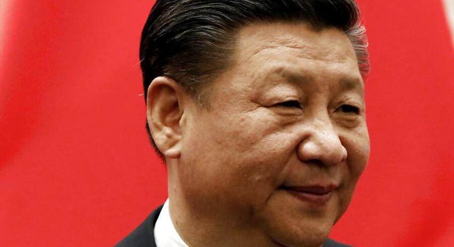 Kinas præsident, Xi Jinping, vil efter den nuværende forfatning skulle forlade præsidentposten i 2023.