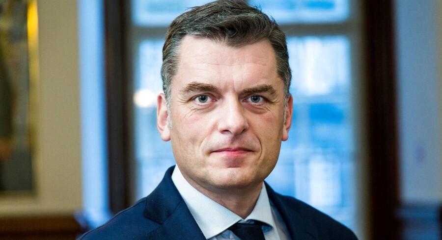 Jan E. Jørgensen (V). Medlem af folketinget for Venstre og rådmand i Frederiksberg kommune.