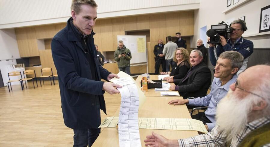 DF's lokale kandidater skal ikke søge borgmesterposter for enhver pris, siger DF-leder Kristian Thulesen Dahl.