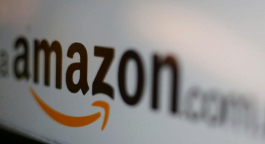 Internetgiganten Amazon står til et milliardstort skattesmæk fra EU-Kommissionen. Arkivfoto: Carlos Jasso, Reuters/Scanpix