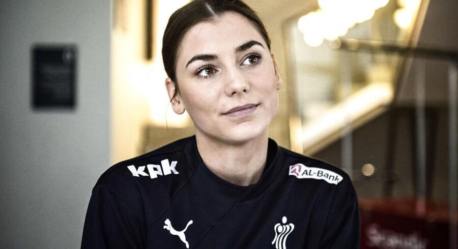 Mie Højlund, som Odense hentede i Randers HK før sæsonen, stod på holdkortet, men hun var ikke spilleberettiget.