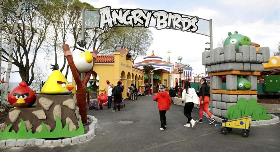 Rovio har formået at tjene penge på Angry Birds uden for mobil-app'en. Der åbnede tidligere i år sågar en Angry Birds forlystelsespark i Tampere, Finland.