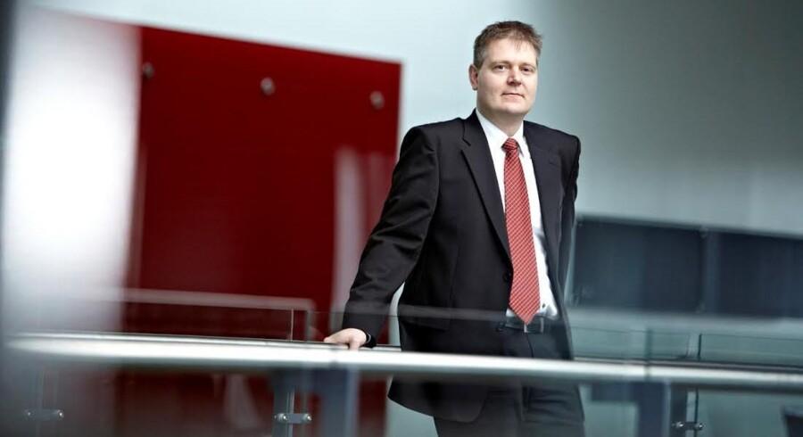 I arbejdstiden mærker Difko-direktør Carsten Skov-Aggerholm gryende interesse for ejendomsprojekter – fritiden går med blandt andet fodbold, fitness og at være far til fire. Foto: Difko