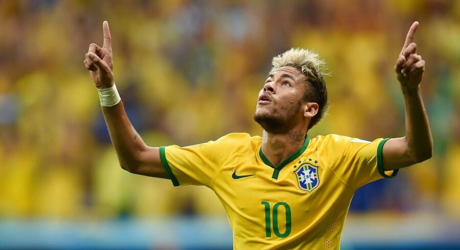 Neymar holder Brasilien på succeskurs.
