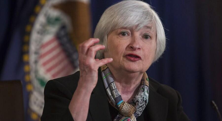 Janet Yellens departement skruer bissen på overfor storbanker.