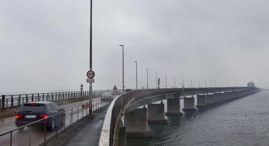 ARKIVFOTO. Storstrømsbro får 122 millioner kroner af EU (Foto: Søren Bidstrup/Scanpix 2012)