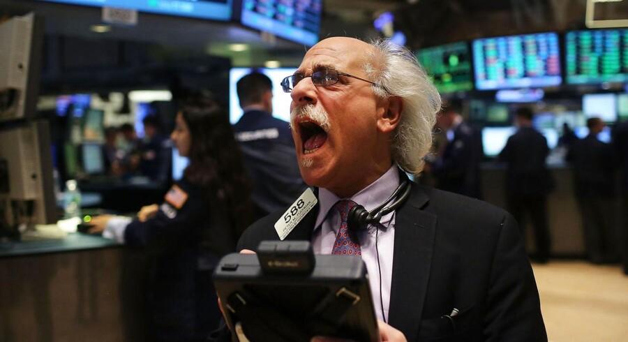 Dow Jones indekset med 1,1 procent og nåede dermed over 14.000 for første gang siden oktober 2007.