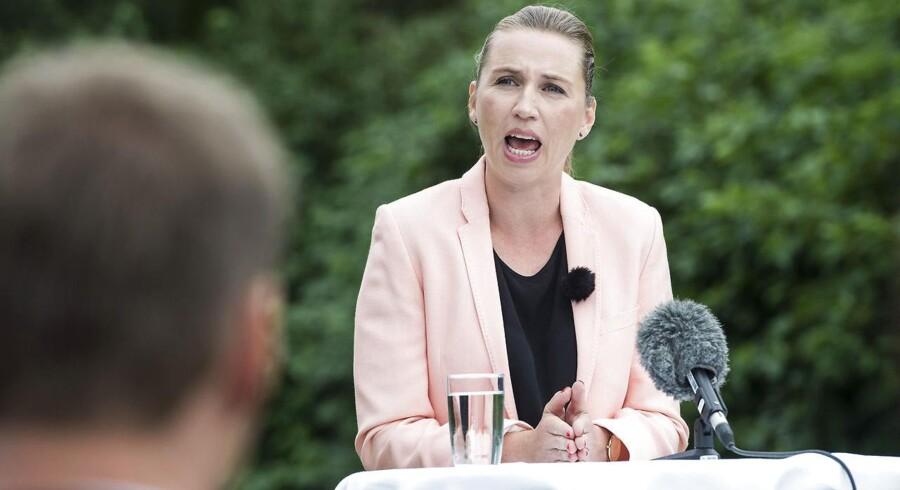 Socialdemokraterne Sommer gruppemøde - Langsøhus Silkeborg - Mette Frederiksen.