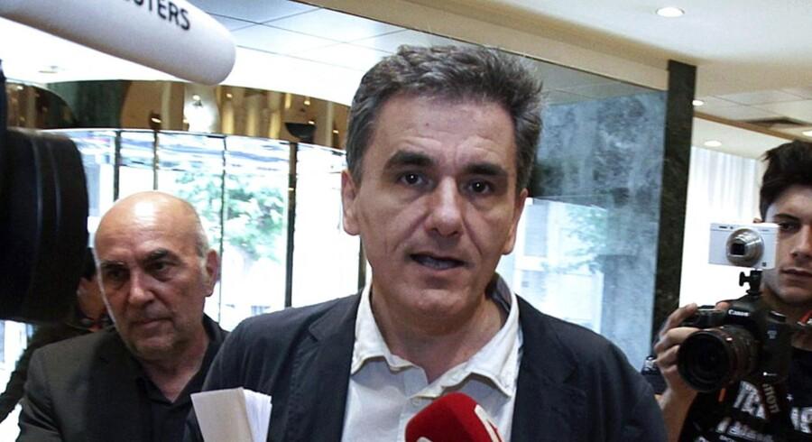 Det bliver som ventet Euclid Tsakalotos, Grækenlands chefforhandler under de svære forhandlinger med landets kreditorer, der overtager posten som finansminister.