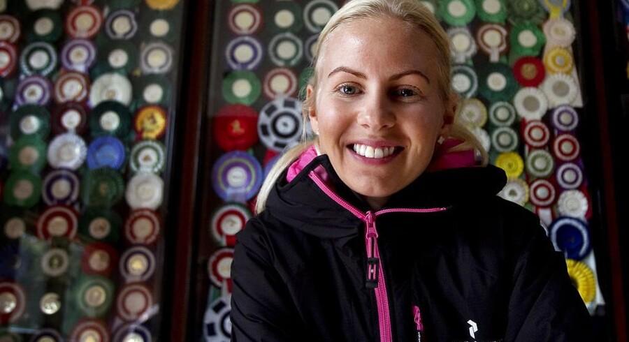 Den professionelle springrytter Emilie Martinsen har via sit ejerskab i IC Companys rigeligt på kistebunden.