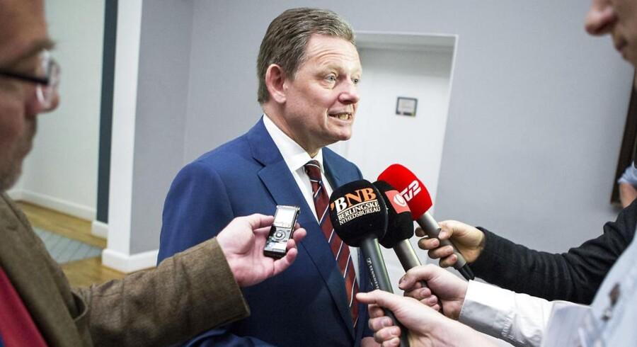 Formand for de Konservative, Lars Barfoed, hilser udmelding fra Lars Løkke Rasmussen (V) og Pia Olsen Dyhr (SF) om, at der skal skrues ned for mudderkastningen i Folketinget, velkommen.