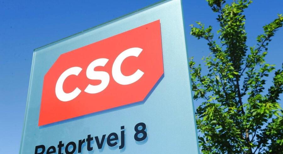 CSC, som har hovedsæde på Retortvej i Valby ved København, mister nu Tryg-koncernen som kunde. Arkivfoto: Jens Nørgaard Larsen, Scanpix