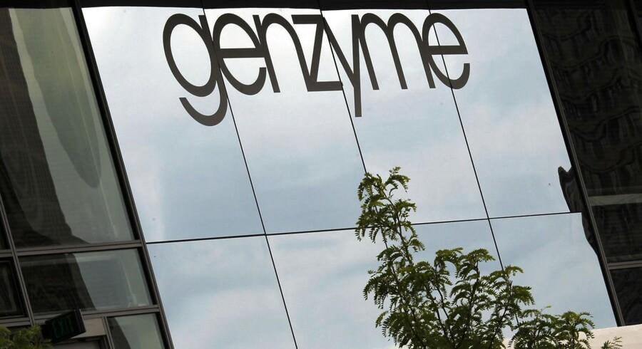 Amerikanske Genzyme, der er en del af Sanofi-Aventis, holder nøje øje med udvalgte danske biotekhåb.