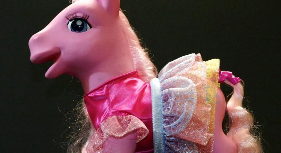 Hasbro, som blandt andet sælger My Little Pony, omsatte for knap tre millliarder dollar i året første ni måneder, mens salget i tredje kvartal nåede 764 millioner dollar.