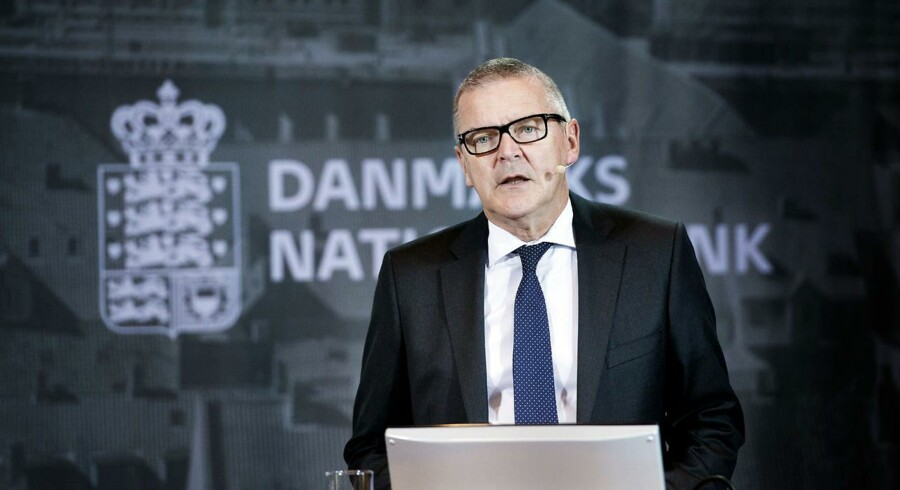 Lars Rohde, direktør for Danmarks Nationalbank.