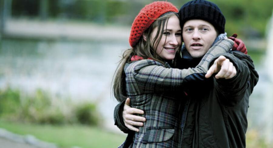 Thure Lindhardt og Tuva Novotny som kærester i krise i den morsomme og begavede film »Sandheden om mænd«. Foto: