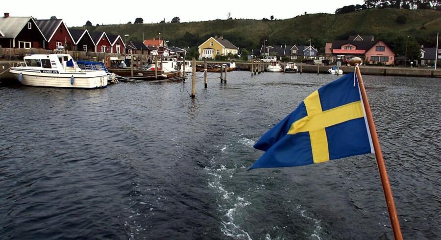 Vi skal skue mod Sverige, mener modstanderne af arveafgiften. Arkivfoto: Bent K. Rasmussen