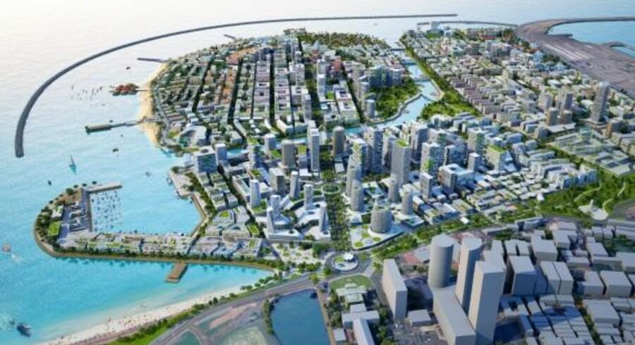 Kina har planlagt at investere milliarder i et gigantisk havneanlæg uden for hovedstaden Colombo, men de planer bliver nu næppe til noget.
