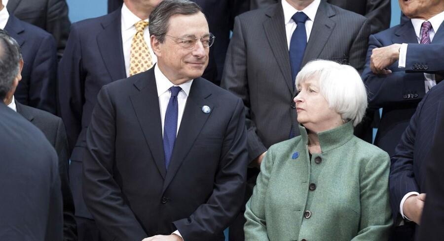 I stedet for et kigge på, hvad Yellen gør på december-mødet, bør man fokusere på ECB. Vil Draghi mon købe endnu flere obligationer for at svække euro?