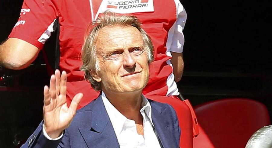 Nu vinker Ferraris topchef Luca Cordero di Montezemolo farvel efter 23 år i virksomheden.