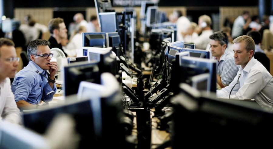 EU vil lægge loft over bankfolkenes bonus, og det kan ramme de danske handlere. Foto: Christian Als