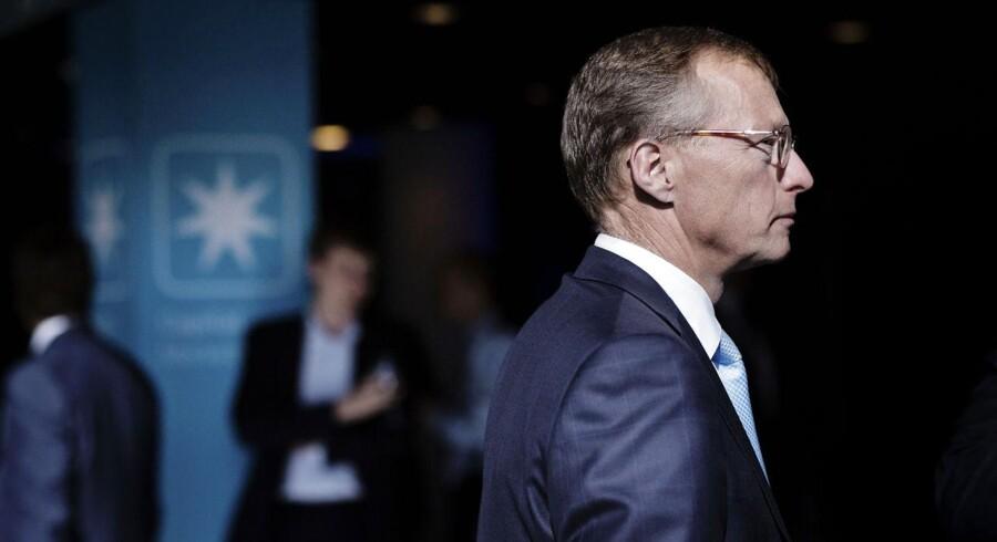 Trods et godt kvartalsregnskab har Nils Smedegaard Andersen stadig grund til bekymring over Maersk Oil.