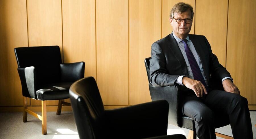 Michael Pram Rasmussen, bestyrelsesformand i A.P. Møller-Mærsk, har tillid til Danske Banks bestyrelse.