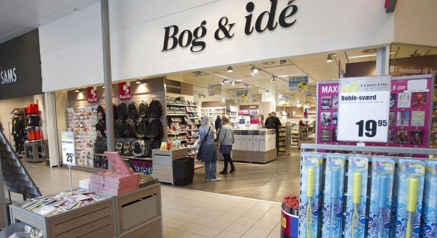 Bog & Idés ejere, Indeks Retail, præsenterer et mindre underskud i det seneste årsregnskab. Foto: Kim Haugaard