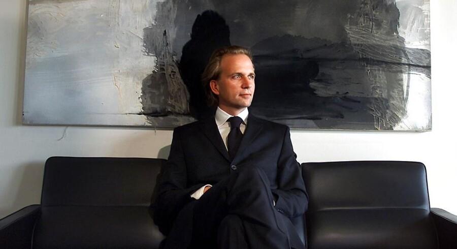 Arkivfoto. Peter Linck, der stod bag avis-floppet Dagen og månedsmagasinet Euroman, måtte sidste år se sit sommerhus blive sat på tvangsauktion hele to gange.