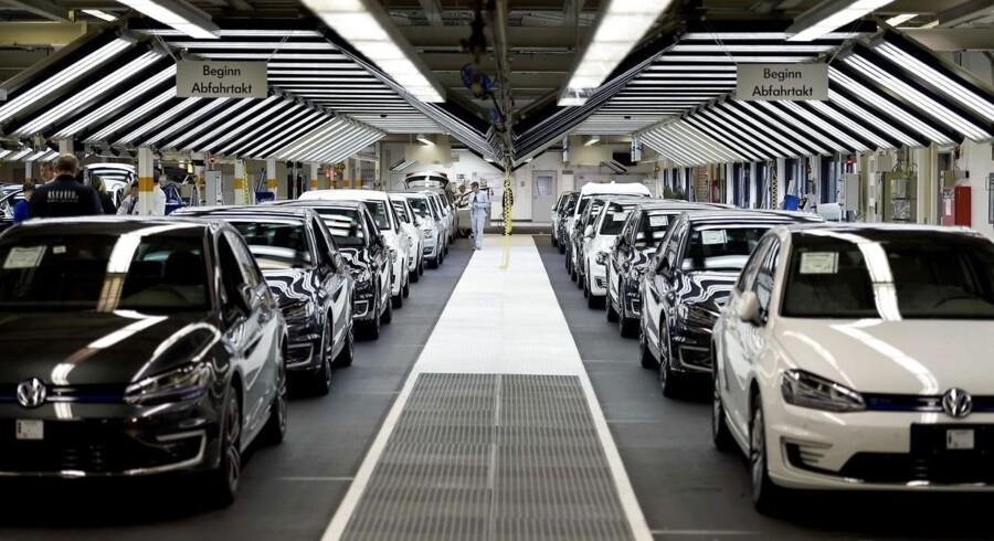 ARKIVFOTO fra VWs fabrik i Wolfsburg.