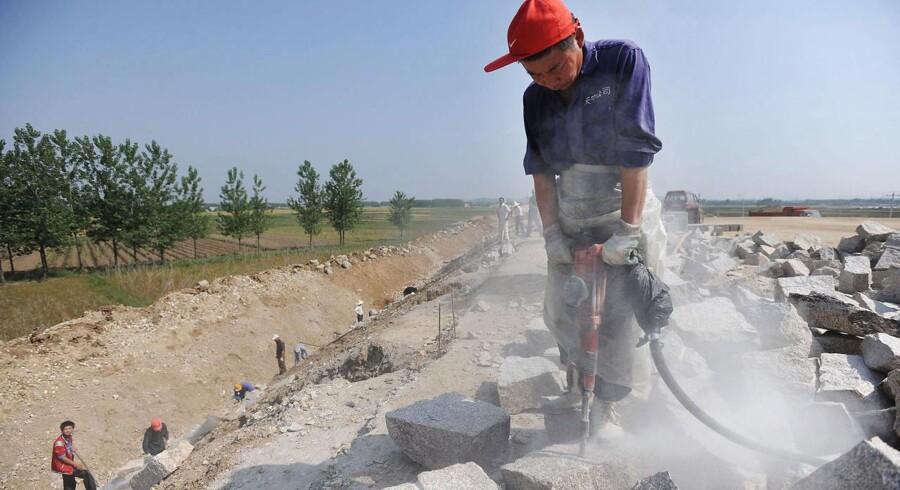 Kina har nu lanceret en ny stor infrastrukturplan til en værdi af svimlende 1100 mia. dollar - svarende til 6869,6 mia.kr.