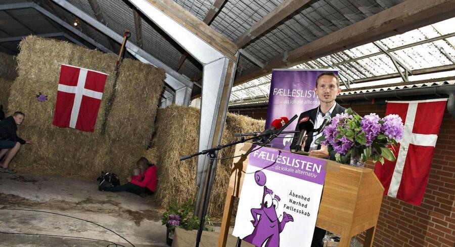 Venstres næstformand Kristian Jensen holdt grundlovstale i Brande. Grundlovsmødet blev holdt hos frilandsgartneriet Axel Månsson.