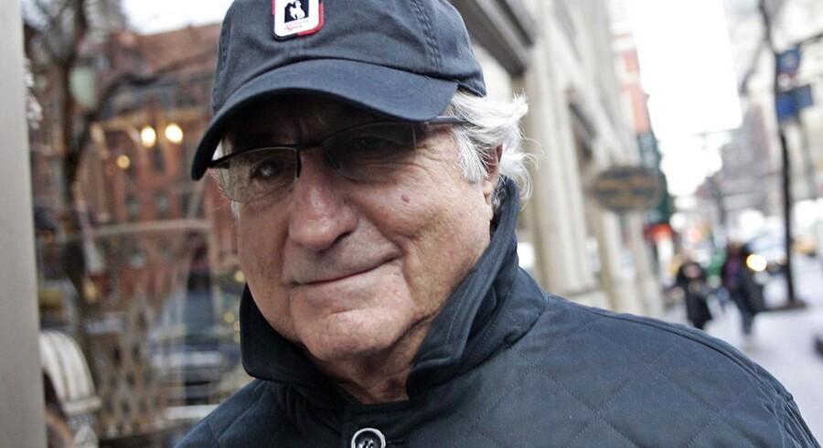 Bernard Madoffs svindel kostede investorerne op mod 18 milliarder dollar - han blev efterfølgende idømt 150 års fængsel.