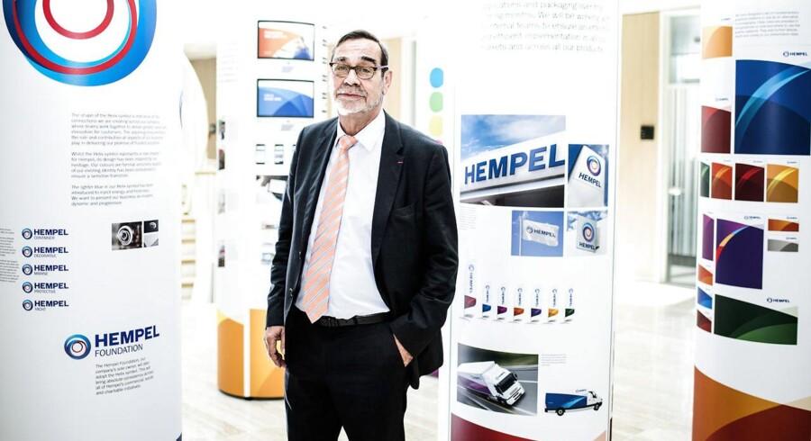 Pierre-Yves Jullien, nuværende direktør for malingproducenten Hempel.
