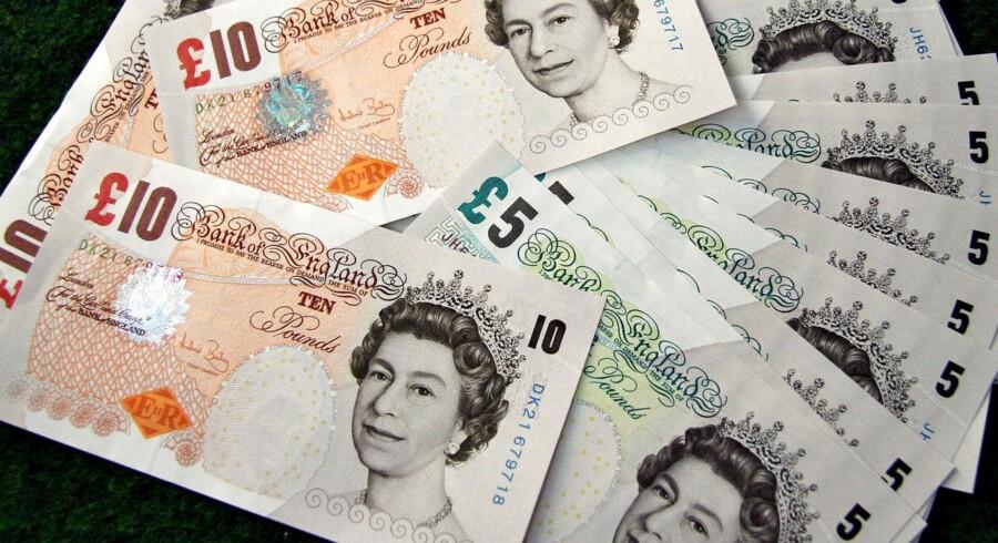 Britiske pund tog et hop efter rentemeddelelse fra Bank of England.