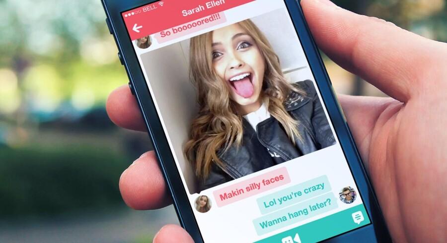 Twitters video-app Vine har også integreret mulighed for at udveksle private beskeder.