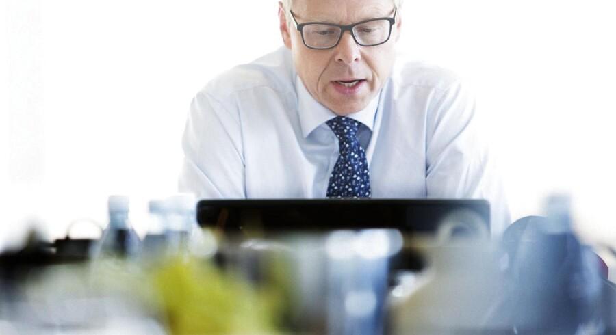 Koncernchef Michael Rasmussen, Nykredit, er tilfreds med den nye aftale om erhvervslån gennem Totalkredit.