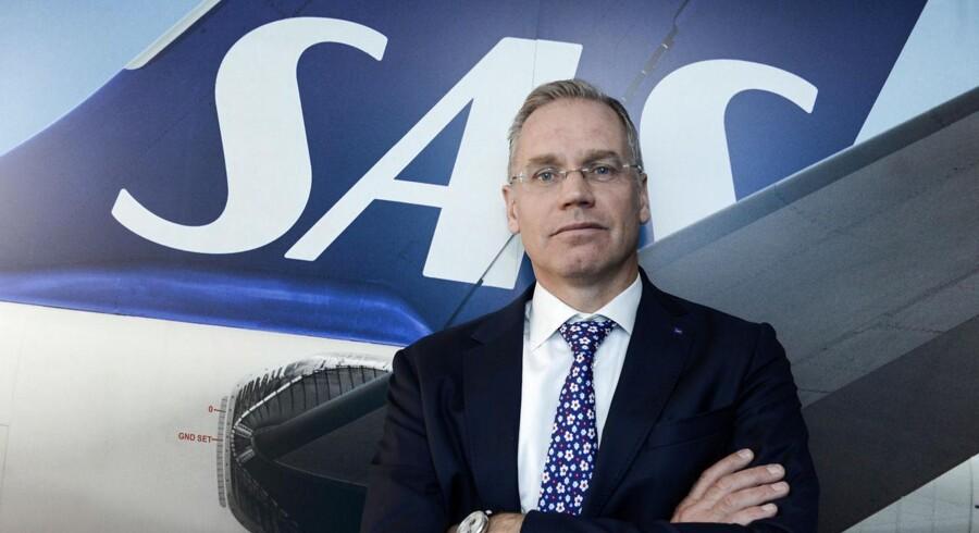 SAS-boss Rickard Gustafson håber på en fusion over de kommende år.