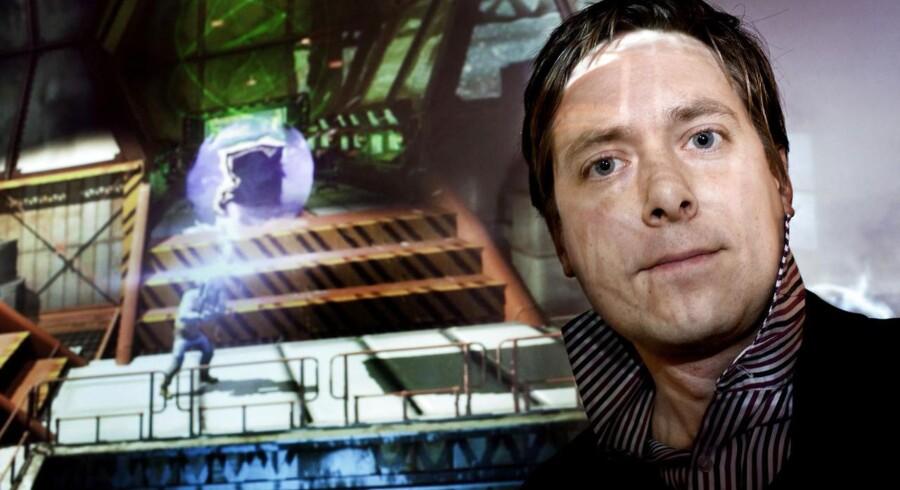 Iværksætteren David Helgason, der er direktør for spilteknologiudvikleren Unity