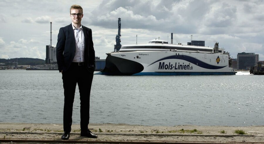 Thomas Tang er aktionær i Mols-Linien